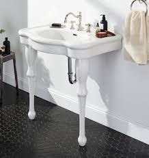 Kohler Memoirs Pedestal Sink 30 Inch by Victorian Pedestal Single Sink Console Rejuvenation Bathroom