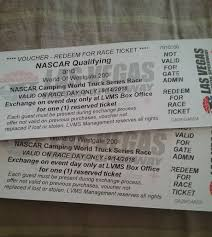 NASCAR LAS VEGAS Camping World Truck Series Race...2 Tickets(9-14 ... Nascar Camping World Truck Series Entry List Las Vegas 300 Motor Speedway 2017 350 Austin Wayne Gander Outdoors Wikiwand Holly Madison Poses As Grand Marshall At Smiths Nascar Sets Stage Lengths For Every Cup Xfinity John Wes Townley Breaks Through First Win Stratosphere Named Title Sponsor Of March 2 Oct 15 2011 Nevada Us The 10 Glen Lner Stock Arrest Warrant Issued Nascars Jordan Anderson On Stolen Car Ron Hornaday Wins The In Brett Moffitt Chicagoland Race