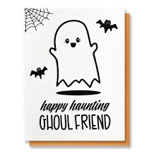 Free Halloween Ecards Funny by New Funny Halloween Ghost Happy Haunting Ghoul Friend Bff