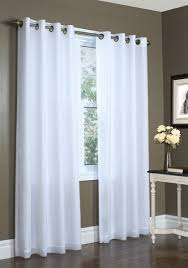 Grommet Insulated Curtain Liners by Insulated Sheer Curtain Lined Panels 100 Polyester Silky Curtains