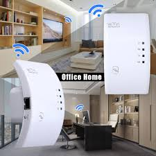 Wireless 300Mbps Boosters Signal Range Of Power Repeater WLAN WiFi Amplifier A