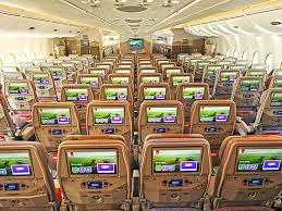 siege boeing 777 300er air emirates airlines fera payer le choix du siège vliegtuig