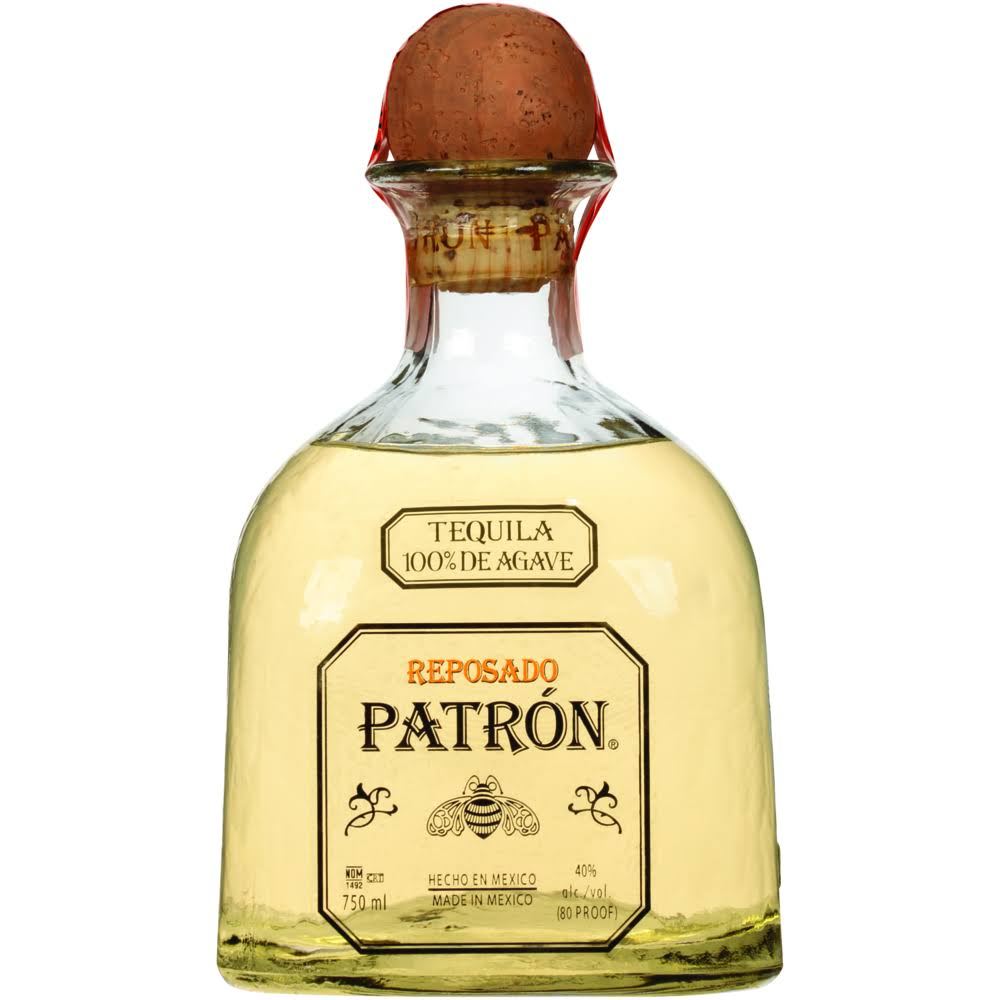 Patron Gold Tequila - 750ml