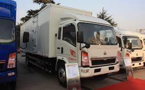 100 4x2 Truck China Brand Sinotruk Howo 4X2 Light Duty Mini Van Cargo