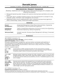 Sample Resume For A Midlevel Engineering Project Manager Monster Com Rh Examples
