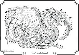 Dragon Coloring Pages Free Realistic Real Cute Fire Breathing