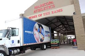 100 Goodwill Truck Maricopa Football Clinic And Donation Drive Featured