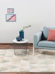 teppich justin hellgrün wohnzimmerteppich benuta teppich