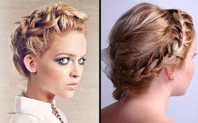 Cute Curly Hairstyles Tumblr Fresh Short Prom Braids
