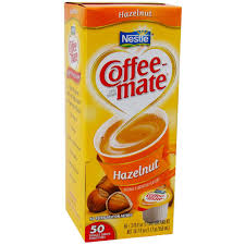 Coffee Mate Hazelnut Liquid Creamer 50ct
