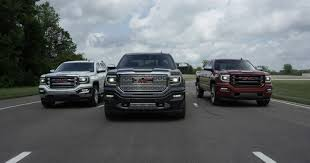 2016 GMC Sierra Truck Shows Its New Face | Carscoops.com Gmc Sierra 1500 Vs Chevy Silverado Syracuse Ny Bill Rapp Buick Denali Gets A Sibling Meet The Raetopping Canyon Colorado Midsize Rivalry 2015 Ram Semilux Shdown High Country 2500hd Competion Lowe Chevrolet 2017 Ford F Series Super Duty Youtube Dodge Pickup Trucks Gas Truck Lift Kits By Bds Vs 2016 Head To F150