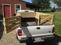 Wooden Stake Sides For A Pickup Truck. Small Livestock, Hay Or ...