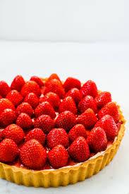 erdbeer tarte mit lemon curd mascarpone creme
