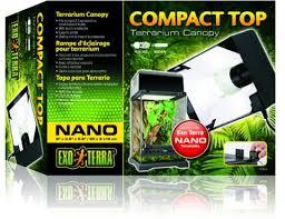 exo terra nano compact top for sale