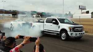 Shelby 1000 Diesel Dually Truck Double Burnout With A Super Snake ...