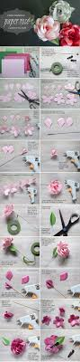 Paper Rose Corsage Bouquet Long Stemmed Tutorial