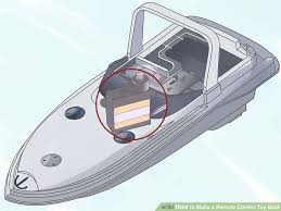 Instructions To Build A Toy Box by How To Make A Remote Control Toy Boat 11 Steps With Pictures