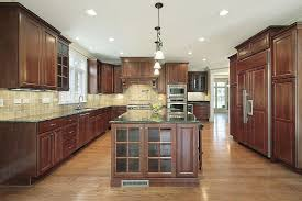 Dark Wood Cabinet Kitchens Colors 43 Kitchens With Extensive Dark Wood Throughout