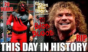 100 Drozdov Kane 20 YEAR WWE Anniversary 1st EVER HIAC Match Remembering