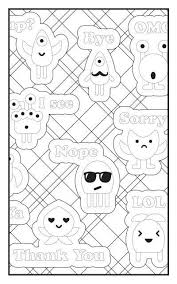 Emoji Crazy Coloring Book 30 Pages For Adults Teens And Kids Travel Size