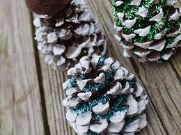 Pine Cone Christmas Tree Ornaments Crafts by Pinecone Christmas Tree Holiday Craft For Kids
