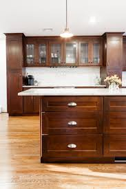 Parr Lumber Bathroom Cabinets by Dark Handles On Bridgewood Cabinets In A Stone Finish Hardware
