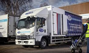 100 Truck Services TCR Food Service Takes Delivery Of Isuzu Forwards From Aquila