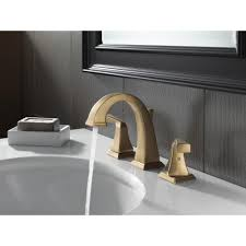 Delta Linden Widespread Bathroom Faucet by Champagne Bronze Bathroom Faucets Best Bathroom Decoration