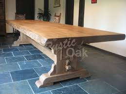 Waney Edged Refectory Dining Table