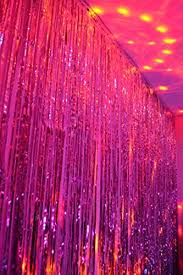 Foil Fringe Curtain Nz by My Party Suppliers Metallic Pink Foil Fringe Shiny Curtains For