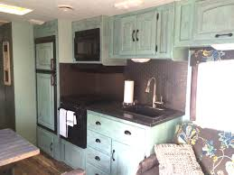 Camper Interior Decorating Ideas by Camper Remodel Ideas Elbow Grease Paint A Hammer And A Sewing