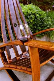 Webbed Lawn Chairs With Wooden Arms by A Chair That Holds Your Wine Yes Please Home Sweet Home