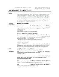 Sample Resume For It Format Ofw