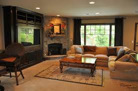 Earth Tones Living Room Design Ideas by Living Room With Corner Fireplace Decorating Clear Ideas Wzibpvt