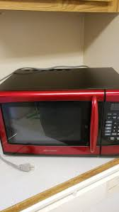 Emerson Red And Black Microwave For Sale In Brier WA
