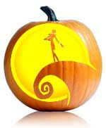 Nightmare Before Christmas Pumpkin Template by Have A Tim Burton Halloween 6 Pumpkin Carving Ideas For