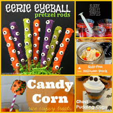 Halloween Pretzel Rods by 5 Easy Recipes For Your Halloween Party