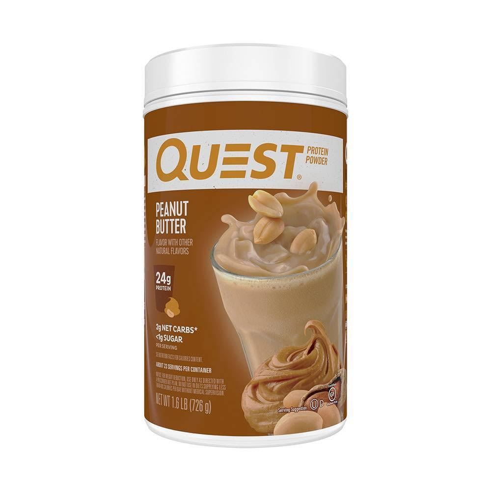 Quest Protein Powder, Peanut Butter - 1.6 lb