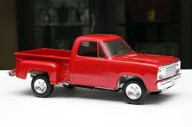 100 73 Dodge Truck Vintage 1970s Pickup Built Model Car Kit 124 Scale