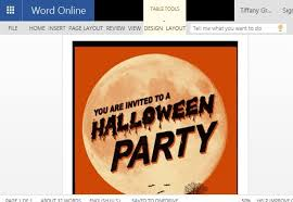 Free Halloween Flyer Templates by Halloween Flyer Word Template