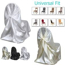 Details About Wholesale 50/100X Wedding Banquet Chair Cover Satin  Slipcovers White Black Ivory Satin Banquet Chair Cover Red Covers Wedding Whosale Outdoor Ivory For Weddings Only 199 Details About 100 Universal Satin Self Tie Any Kind Of Chair Cover Decorations Good Looking Rosette Cap Hood Used For Spandex Free Shipping Pin On Our Tablecloths Bunting Hire Vintage Lamour Turquoise Cheap Seat Us 4980 200 Tie Round Top Cover Banquet Free Shipping To Russiain From Home Garden Brocade Ivory