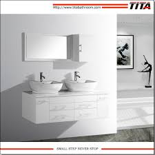 China Modern Bathroom Vanity / White Double Sink Bathroom Vanity ... Modern Mini Simple Designs Bathroom Cabinet Vanity For Sale Buy Aquamoon Livenza White Double 59 34 Modern Bathroom Vanity Set 40 Vanities That Overflow With Style 20 White With Undermount Resin Sink Contemporary Vanities Cabinets Top 68 Bangup Contemporary Why And How You Take Tinney Mirror Reviews 15 Your Home Small Hgtv Cabinets Airpodstrapco Walnut Omega Cabinetry Clearancemor 36 High Gloss Wall Mounted