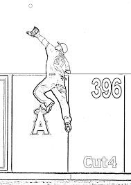 To Download Baseball Coloring Pages Mlb 81 In With