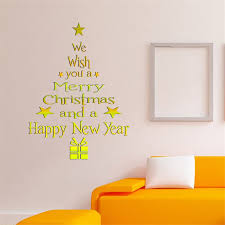 Tree Wall Decor Ideas by Christmas Wall Decor Attractive Design Christmas Wall Decor