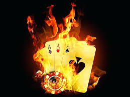 Live Fireplace Wallpaper For Pc Flaming Poker Cards Wallpaper Free