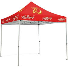 10 x 10 Custom Printed Pop Up [With Canopy] Outdoor Display
