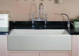 Kohler Sink Rack Biscuit by Kitchen 33 Farmhouse Sink White Single Bowl Large White