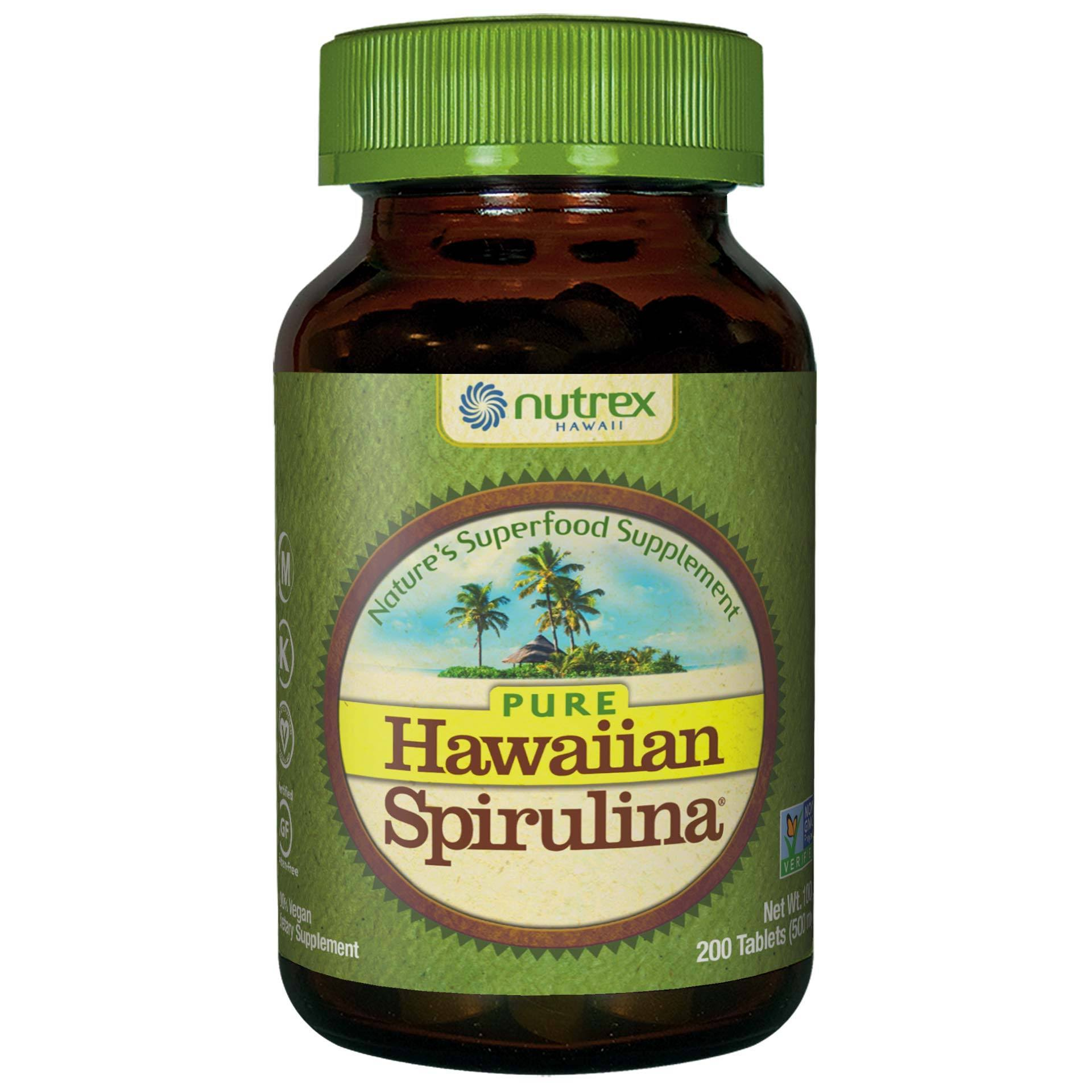 Spirulina Pacifica Tablets - 500mg, 200ct