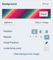 Custom Colors Support WordPress