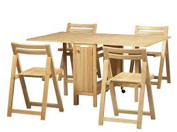 home design lovely folding table and chair set beige cosco